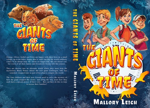 Art book cover with the title 'The Giants of Time'
