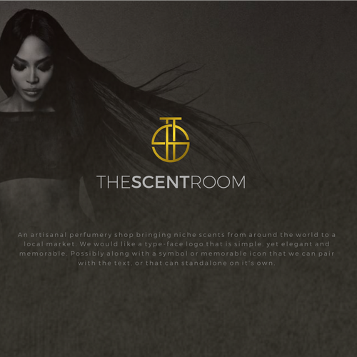 Room logo with the title 'The Scent Room'