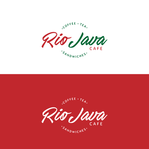 Java design with the title 'Rio Java Cafe Logo'