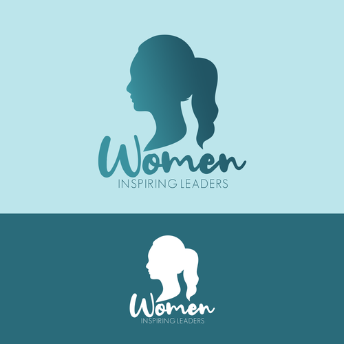 CEO logo with the title 'Women Inspiring Leaders Logo Design'