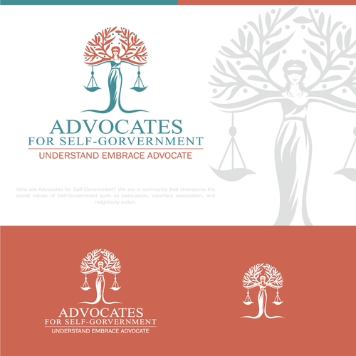 Advocate logo with the title 'Logo concept for AFSG'