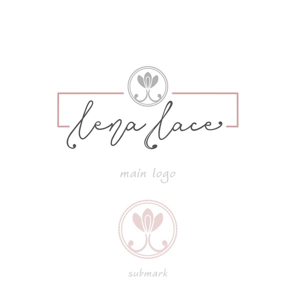 Value logo with the title 'lingerie lace logo '