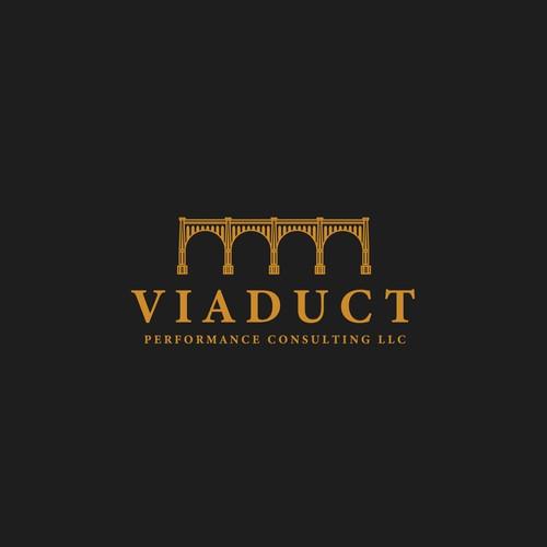 Gold tree logo with the title 'Viaduct'