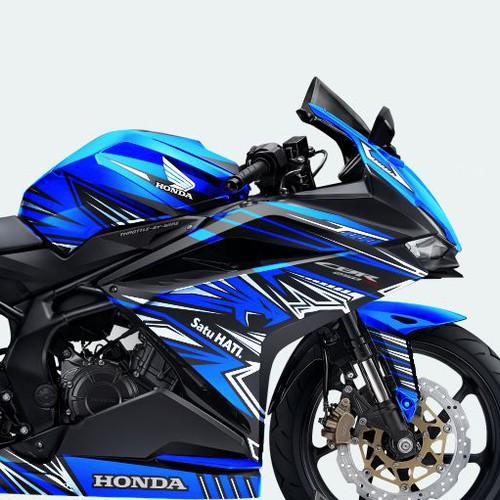 Motorcycle logo with the title 'Honda CBR 250RR livery Lightning Garuda'