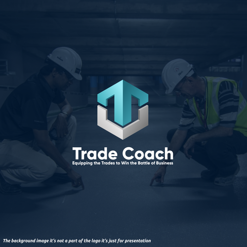 Plumbing logo with the title 'Trade Coach'