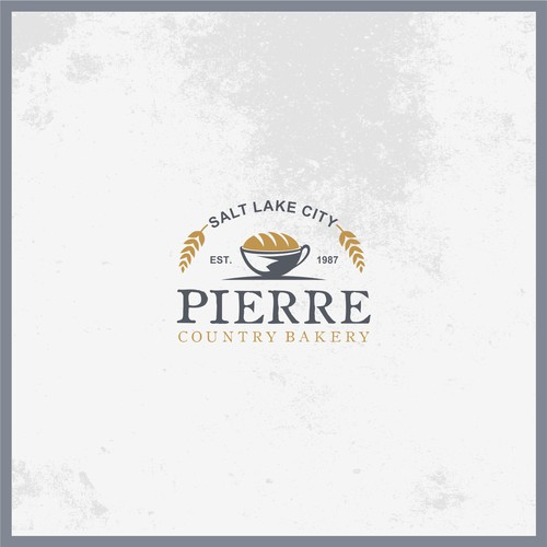 Bread brand with the title 'PIERRE COUNTRY BAKERY'