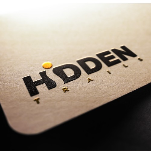 Hidden logo with the title 'Hidden Trails '