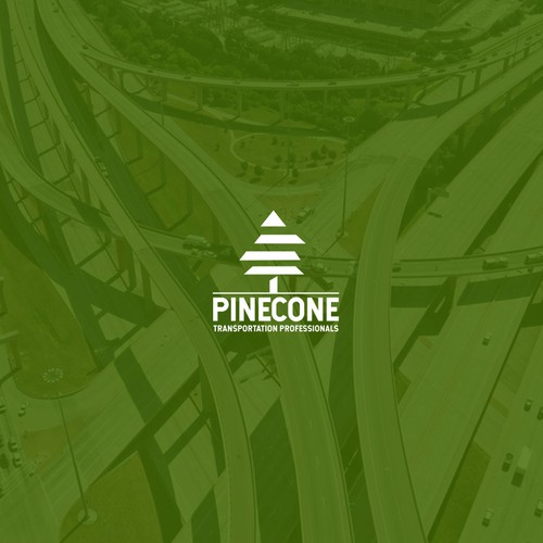 Cone design with the title 'Pinecone'