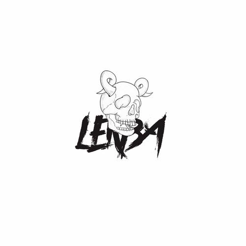 Streetwear logo with the title 'lekba'