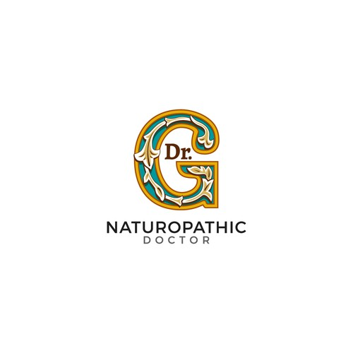 Doctor brand with the title 'bold logo for naturopathic doctor'