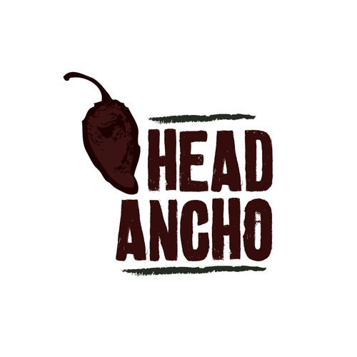 Mexican restaurant design with the title 'Mexican Restaurant - Head Ancho '