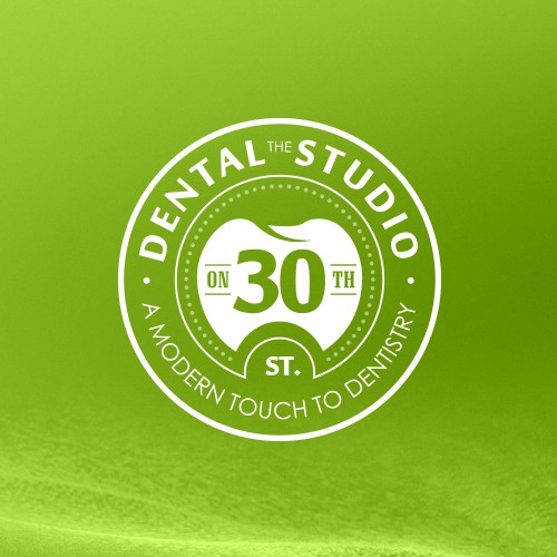 Teeth design with the title 'Create a modern logo design for The Dental Studio on 30th.'