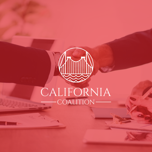 Advocacy logo with the title 'California Coalition'