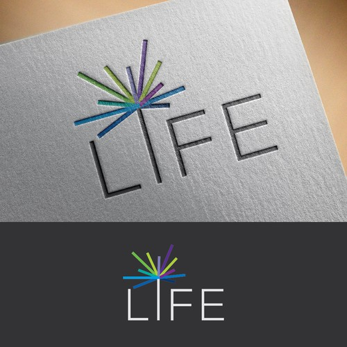 Innovative logo with the title 'Bring to LIFE a logo that inspires innovation'