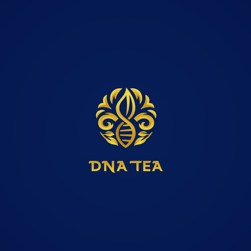 DNA logo with the title 'Finalist DNA TEA logo contest'