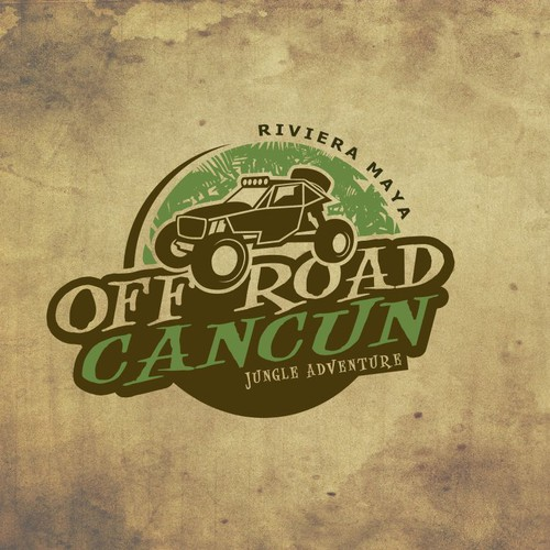 Off roading logo with the title 'Off Road Cancung'