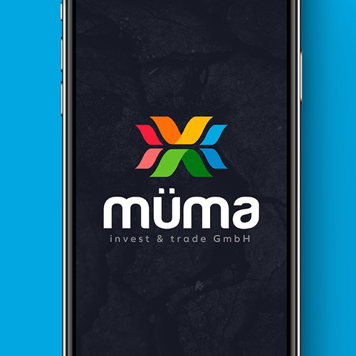 Trade logo with the title 'Müma'