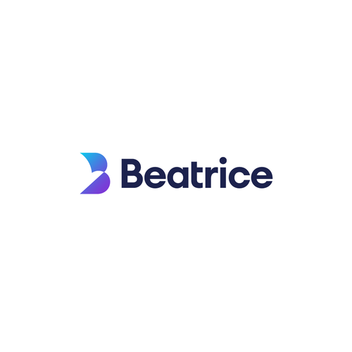 Initial logo with the title 'Logo for Beatrice'