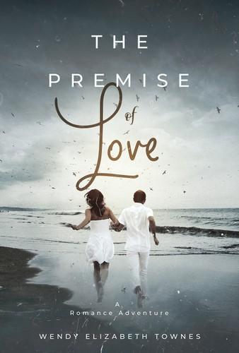 Adventure design with the title 'The Premise of Love'