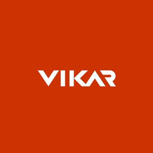 Economic design with the title 'VIKAR'