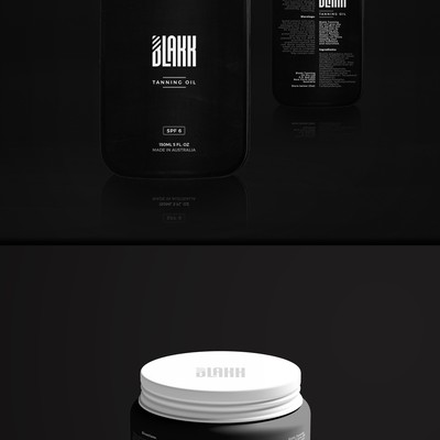 product label for blakk