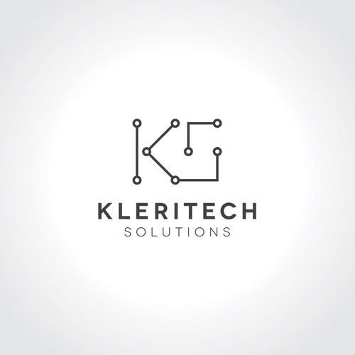 Corporate identity logo with the title 'Kleritech Solutions'