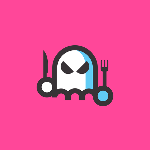Green and pink logo with the title 'ghost culinary'