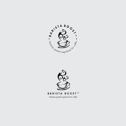 Barista design with the title 'Barista Boost'