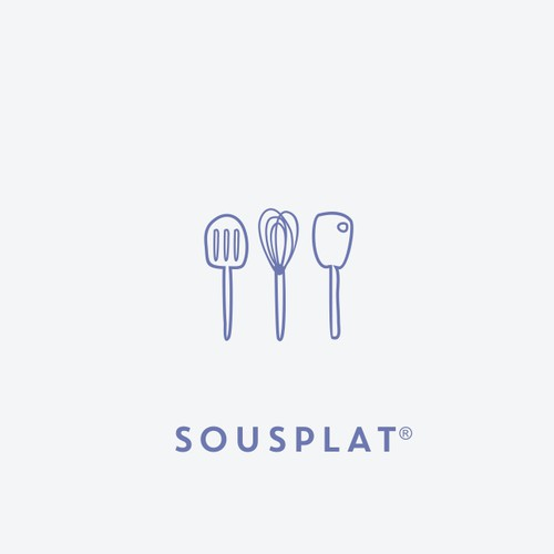 Cooking design with the title 'SousPlat'