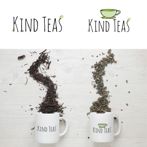 Kind design with the title 'Kind Teas'