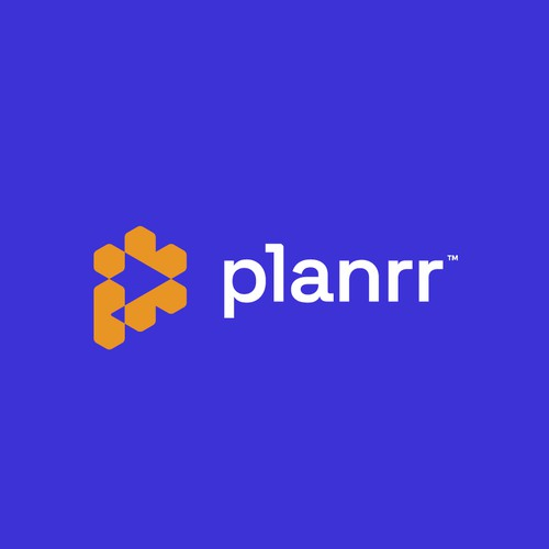 P logo with the title 'planrr'