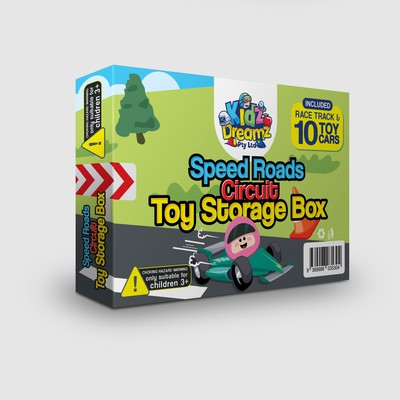 Kidz Dreamz Birthday and Christmas Gift Box Design