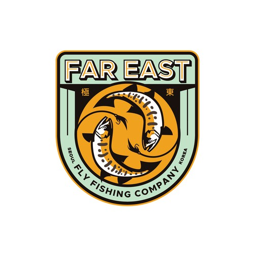 Traveler logo with the title 'Far East Fly Fishing Company'