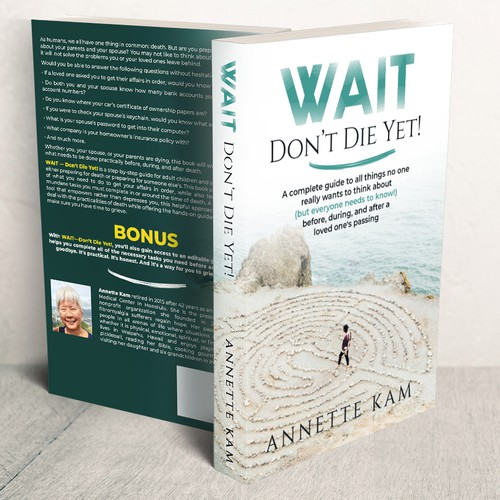 Guide book cover with the title 'Wait Don't Die Yet!'