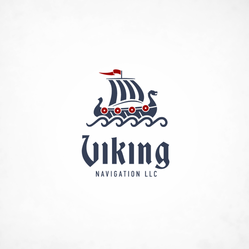 Vector design with the title 'Viking Navigation LLC'