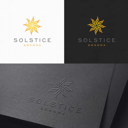 Shore logo with the title 'Solstice Sonoma, high end resort'