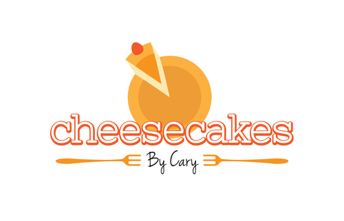 Cake brand with the title 'Cheesecakes by Cary Logo and Brand Identity Pack Winner'