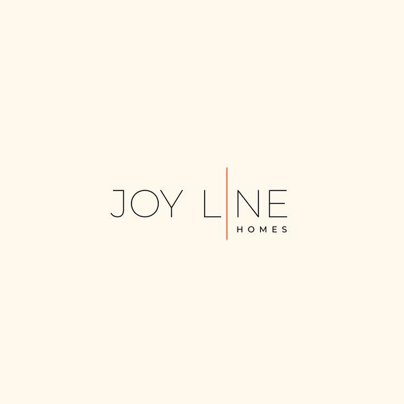 Line art logo with the title 'minimal wordmark logo'