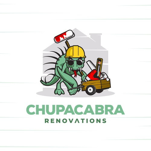 Renovation logo with the title 'Chupacabra Renovations'