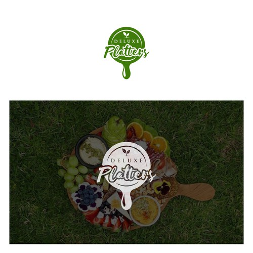Deluxe design with the title 'Design a logo for Deluxe Platters'
