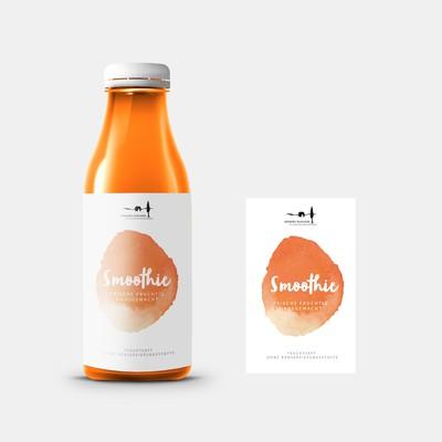 Smoothie Label Design
