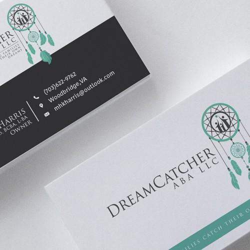 Dreamcatcher design with the title 'Print Designs For DreamCatcher'