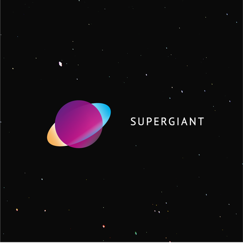 Astronomy logo with the title 'Supergiant'