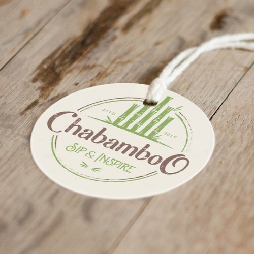 Label logo with the title 'Chabamboo'