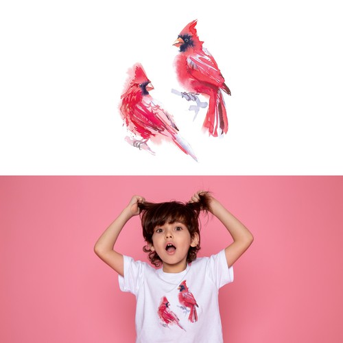 Kids' t-shirt with the title 'T-shirt illustration '