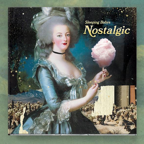 Rock illustration with the title 'Nostalgic'