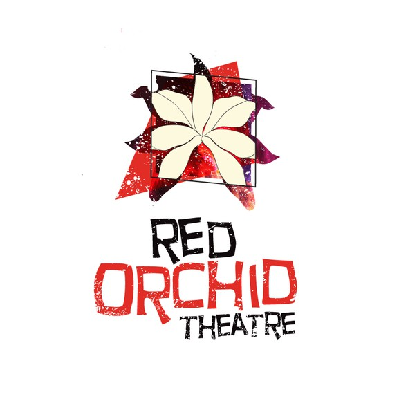 Alternative design with the title 'Red Orchid theatre logo design'