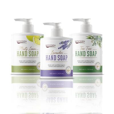 Hand soaps design