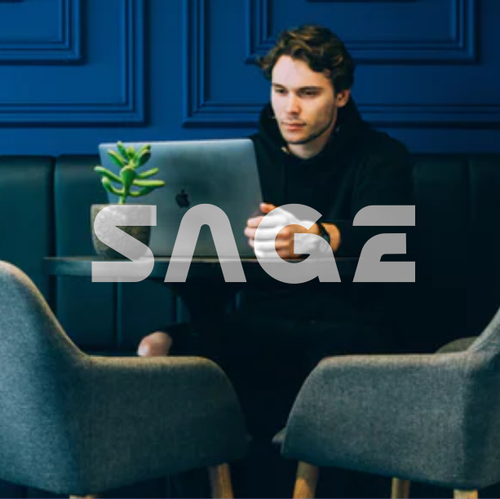 Sage design with the title ' logotype'
