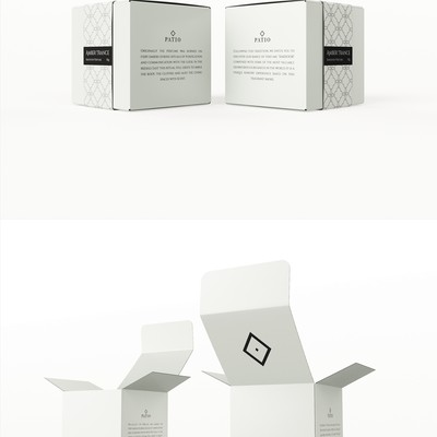 Bakhoor perfume packaging